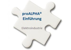 proALPHA-Einführung